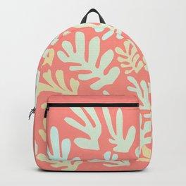 """Collage of Leaves, #23, """"Sierra"""" by Henri Matisse Backpack"""