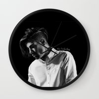 zayn Wall Clocks featuring zayn by otp-hedgefrog