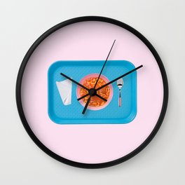 vote soup Wall Clock