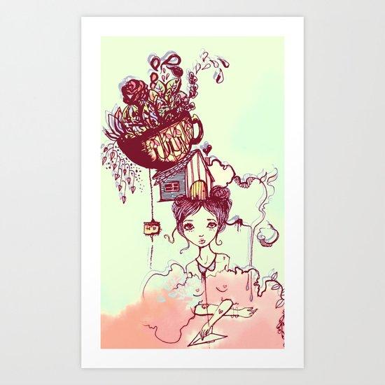 Tea Art Print