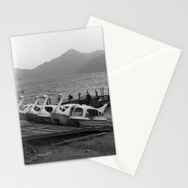 Nikko mountain lake 001 Stationery Cards