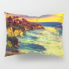 Glowing sea Pillow Sham