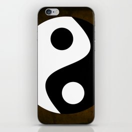 Yin and Yang - Brown iPhone Skin