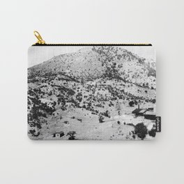 Santa Cruz County, Arizona. 1909 Carry-All Pouch