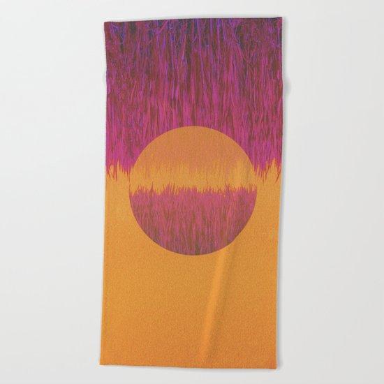 Hot Summer Day Beach Towel