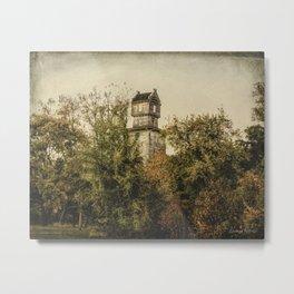 Stucile Farms Water Tower Metal Print