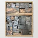 Letterpress type drawer by oneearedrabbit