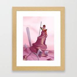 Explorer Eve Framed Art Print