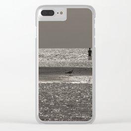 Lumières maritimes Clear iPhone Case