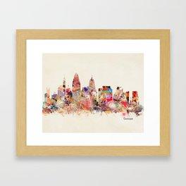 cincinnati ohio  Framed Art Print