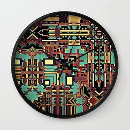 Sixty Four Wall Clock