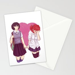 Public Demonstration of Affection Stationery Cards