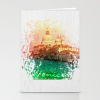 venice Stationery Cards featuring Venice by GingerRogers