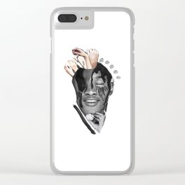 The Thought of Touch Clear iPhone Case