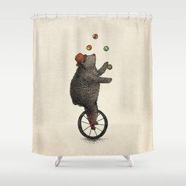 The Juggler (color option) Shower Curtain