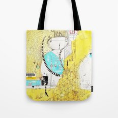 Making downtown  Tote Bag