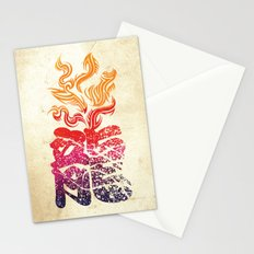 Dragon Flame  Stationery Cards