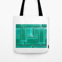 architecture Tote Bags featuring ARCHITECTURE by BIGEHIBI