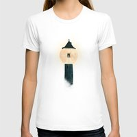 marianna T-shirts featuring The Moon Tower by Paula Belle Flores