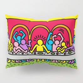 Happy Supper Pillow Sham