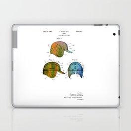 Patent drawing of a Baseball Helmet - Circa 1962 Laptop & iPad Skin