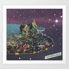 an alien coast Art Print