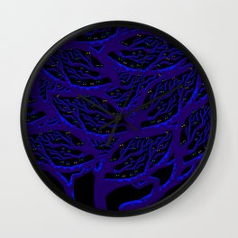 Tree of Life - Night Birds Wall Clock