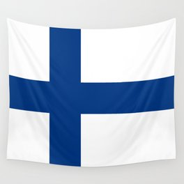 Flag of Finland - High Quality Image Wall Tapestry