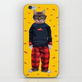 Nigel Cat Nap by Crow Creek Cool iPhone Skin