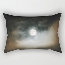 Moon   Nature and Landscape Photography Rectangular Pillow