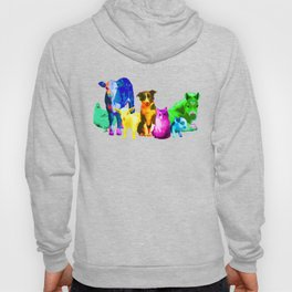 I'm With Them - Animal Rights - Vegan Hoody