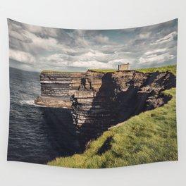 Irish Sea Cliffs Wall Tapestry