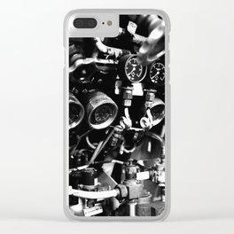 Submarine valves Clear iPhone Case