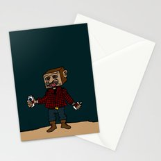 Mr Block, where does your paycheck go? Stationery Cards