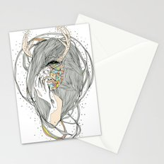 colour blind VII (season of the witch)  Stationery Cards