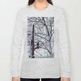 snow trees IIIII Long Sleeve T-shirt