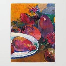 """Paul Gauguin """"Nature Morte Aux Mangos"""" Poster"""