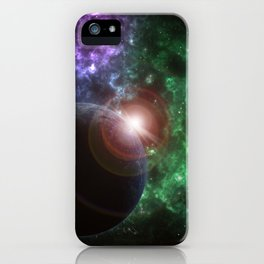 The Kenzie Nebula iPhone Case