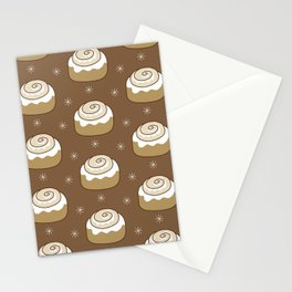 Cinnamon Bun Stationery Cards