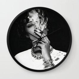 Rihanna poster,Rihanna Print Rihanna print art, Rihanna photo, Rihanna black n white, Rihanna Art Print Wall Clock