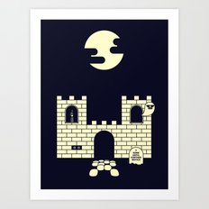 GHOST CASTLE Art Print