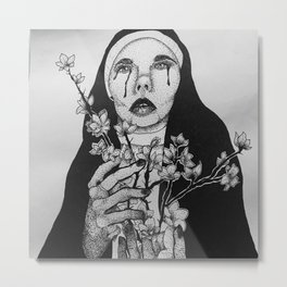Idolatress Metal Print