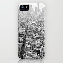 New York Grey Scale iPhone Case