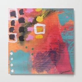 Vivid Expression 01 Metal Print