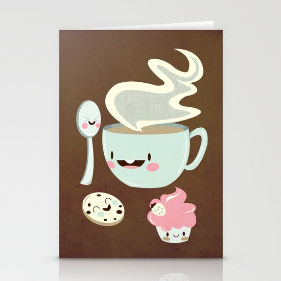 Coffee! Stationery Cards