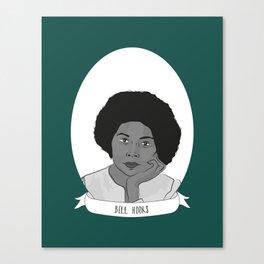 bell hooks Illustrated Portrait Canvas Print