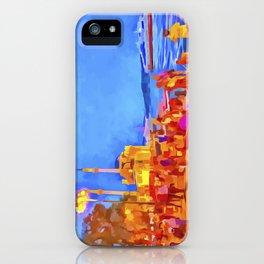 Istanbul Pop Art iPhone Case
