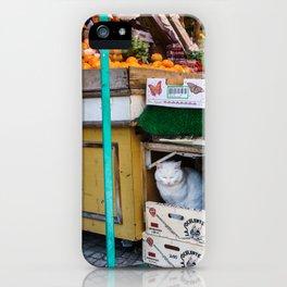 Le Chat du Marché iPhone Case