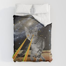 CAT ATTACK!  Comforters