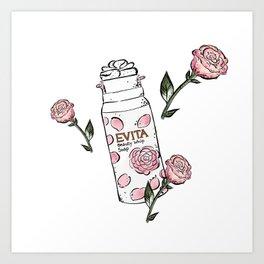 Rose Cleanser Art Print